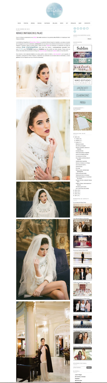 Featured in A todo Confetti || http://www.atodoconfetti.com/2015/01/editorial-novia-invitada-look-divas.html