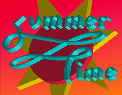 """Check out new work on my @Behance portfolio: """"Summer Time"""" http://on.be.net/1ILduD2"""