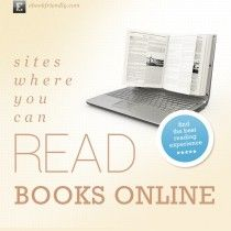 Sites where you can read books online - overview | Ebook Friendly