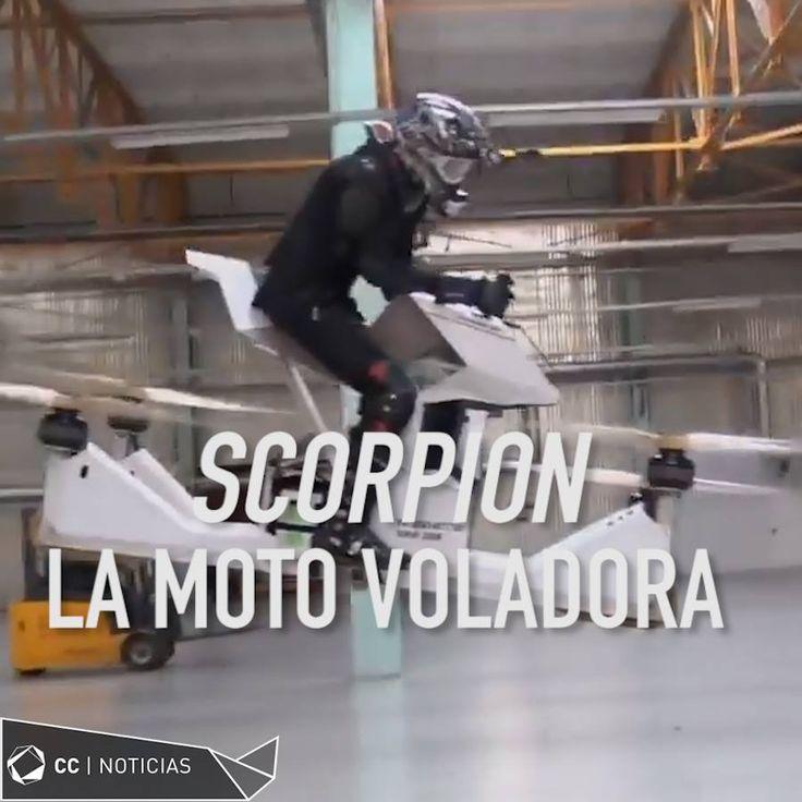 ❝ ¿La moto voladora del futuro? (Vídeo) ❞ ↪ Vía: Entretenimiento y Noticias de Tecnología en proZesa