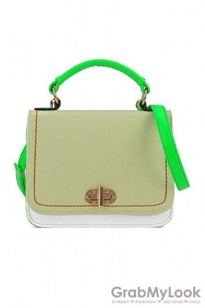 GrabMyLook  Faux Leather Doctor Boston Mini Camera Handbag Bag