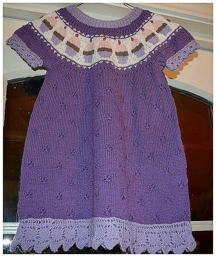 Cup cake kjole
