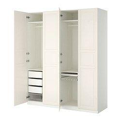PAX Garderob - mjukstängande gångjärn - IKEA