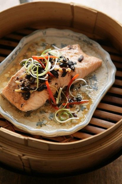 How to cook with Asian condiments - Black bean sauce. Elizabeth Chongs steamed fish fillets in black bean sauce. Photo: Marina Oliphant