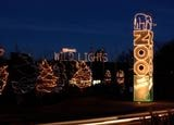 Wild Lights opens each year after Thanksgiving and closes at the end of December. In 2012, Wild lights is open Fridays, Saturdays and Sundays from November 23 to December 23, then nightly from December 26 to 30. The display is open from 5:30 p.m. to 8:30 p.m. The last tickets are sold at 8:15 p.m. See Pictures of Wild Lights
