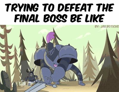 When the final boss has way too much HP. | 24 Hilarious Posts That Only Gamers Will Understand
