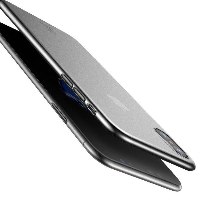 Baseus PP 0.45mm Ultra Thin Anti Fingerprint Case Cover for iPhone X Sale - Banggood.com  #Iphone #smartphones #mobile #cellphones #apple #accessories