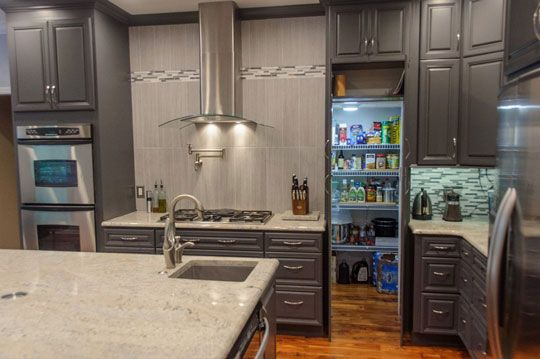 16 best images about pantries on pinterest custom for Kitchen remodeling knoxville tn