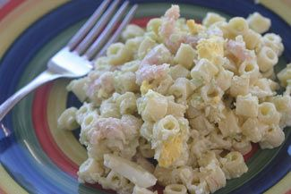 Best Shrimp Macaroni Salad - Simple, Homemade and Classic