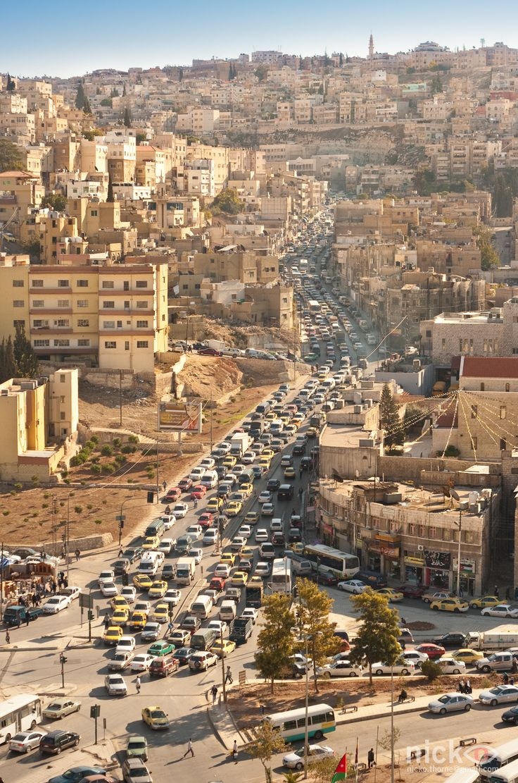 Bazaars Surround Ancient Roman Ruins in Amman http://www.augustuscollection.com/bazaars-surround-ancient-roman-ruins-amman/
