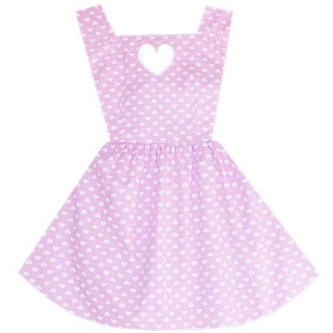 Blushing Beauty Heart Cutout Dress