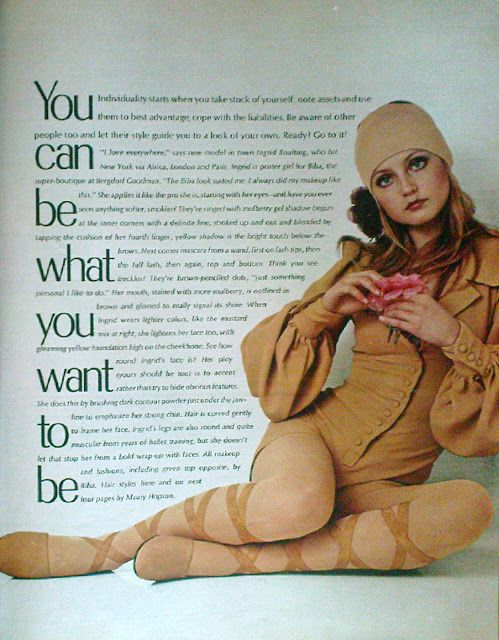 SWEET JANE: Biba Girl...Ingrid Boulting