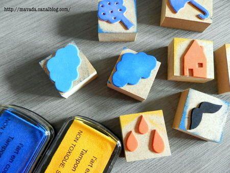Fabriquer des tampons encreurs