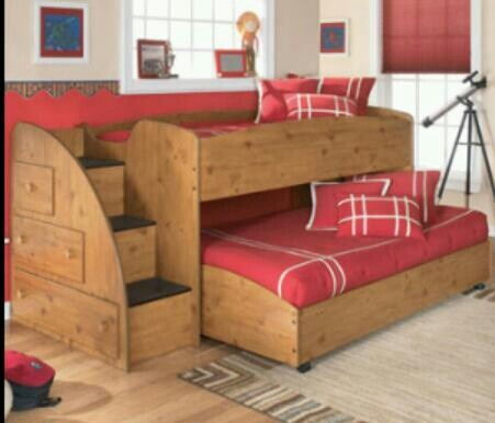I wish I knew where I can get this Futon bed with sliding bed and stairs