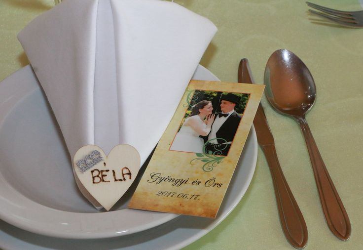 Kézzel készült ültetőkártya és könyvjelző köszönő ajándék :)