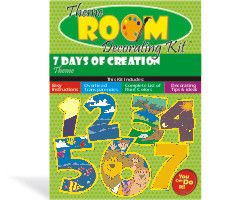 1000 ideas about days of creation on pinterest 7 days for Creation mural kids