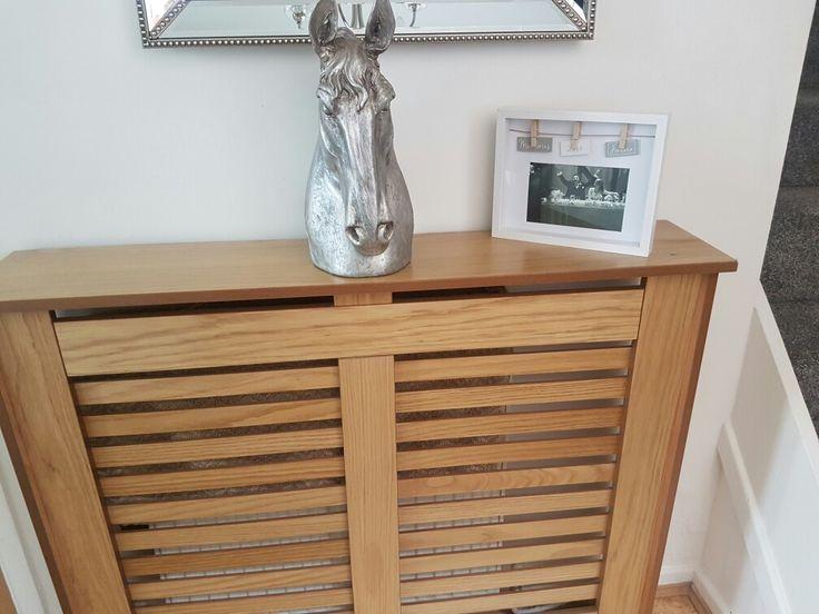Dobbies horse head ornament. Oak radiator cover homebase. Frame matalan.
