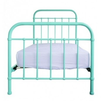 Colour Pop Metal Miller Bed (Mint)