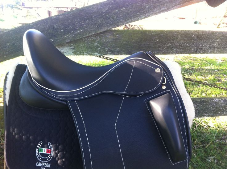 The Black Country Optima features an external half block, and deep seat. The block can be customized the rider's exact leg position, and offers a secure seat and narrow twist. This saddle is available in a variety of trees and panels, allowing customization to horse and rider. As with all Black Country Saddles, this model …