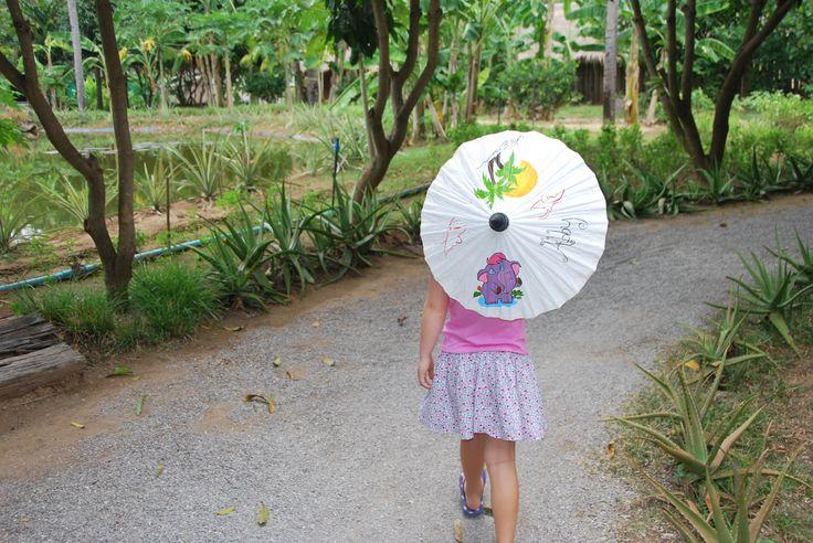 Thailand parasole