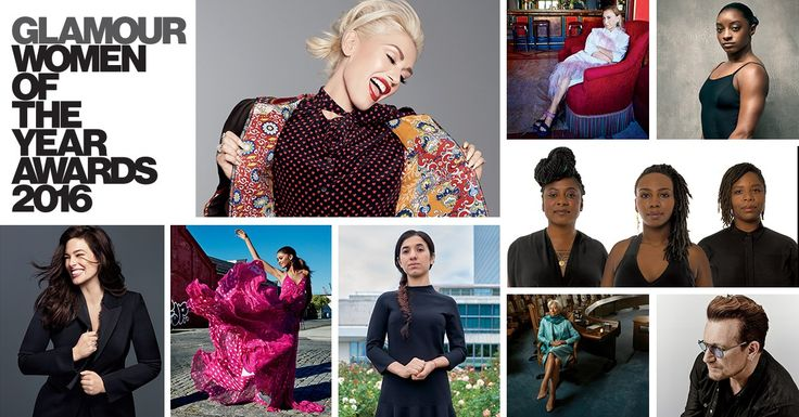 Glamour's Women of the Year 2016: Gwen Stefani, Simone Biles, Ashley Graham, and More Honorees