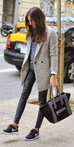 #fall #fashion / black and gray