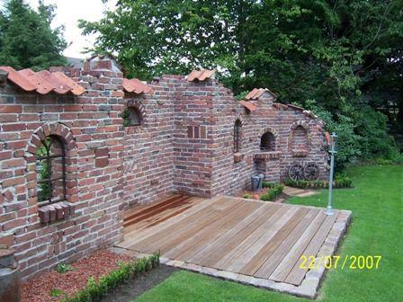 Ruinenmauer