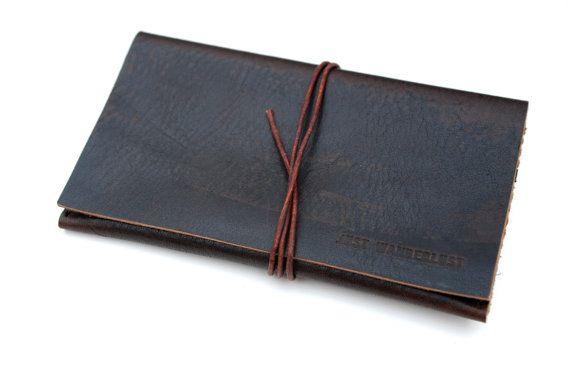 Artisan leather Iphone 5s case. Leather by JustWanderlustShop, $44.00