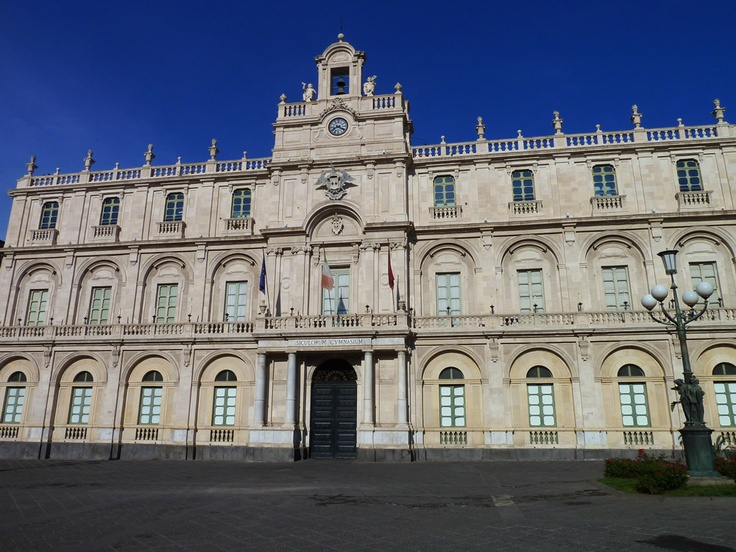 University of Catania  it is the oldest university in Sicily.