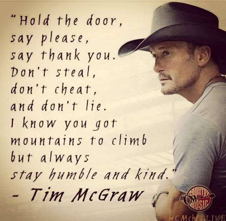 Stay Humble - Tim McGraw