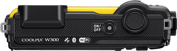 Nikon Canada COOLPIX W300 Rugged Compact Camera (yellow): 4K UHD Video; 16-MP Backside Illuminated CMOS Sensor; Low-Light Shooting; Waterproof, Shockproof, Freezeproof & Dustproof; 5x Optical Zoom Wide-Angle Lens; Built-in Wi-Fi and Bluetooth; Onboard GPS, eCompass, Altimeter, Depth Gauge  https://www.photoxels.com/nikon-coolpix-w300/