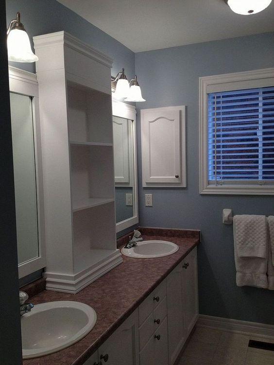 17 Best ideas about Bathroom Mirror Redo – Large Bathroom Mirror
