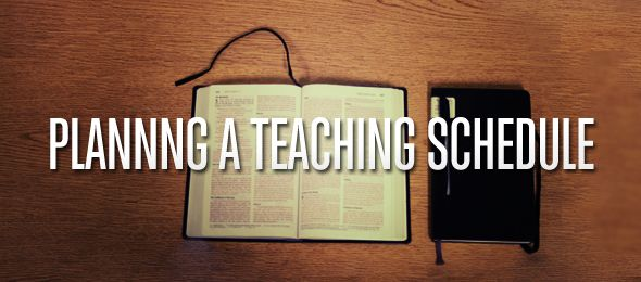 Creating a Teaching Calendar in Youth Ministry