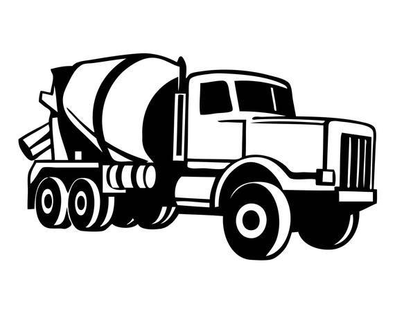 Concrete Mixer Tonka Mack Cement Concrete Mixer Truck Mason Etsy In 2021 Cement Truck Concrete Mixers Mixer Truck
