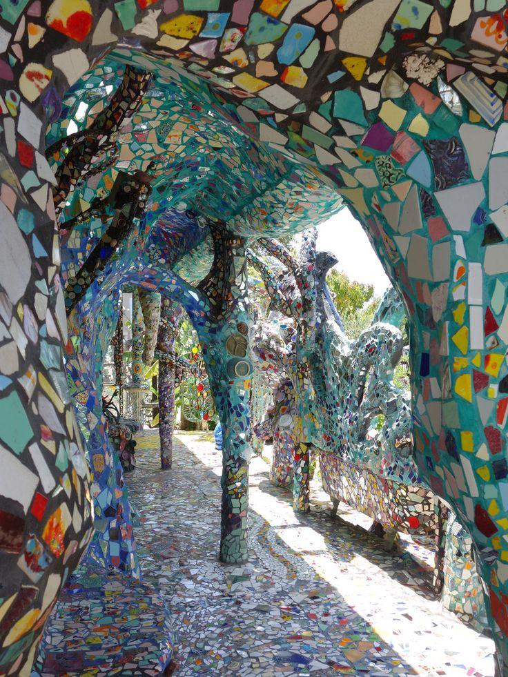 Society Adventures: The Mosaic Tile House of Venice Beach.