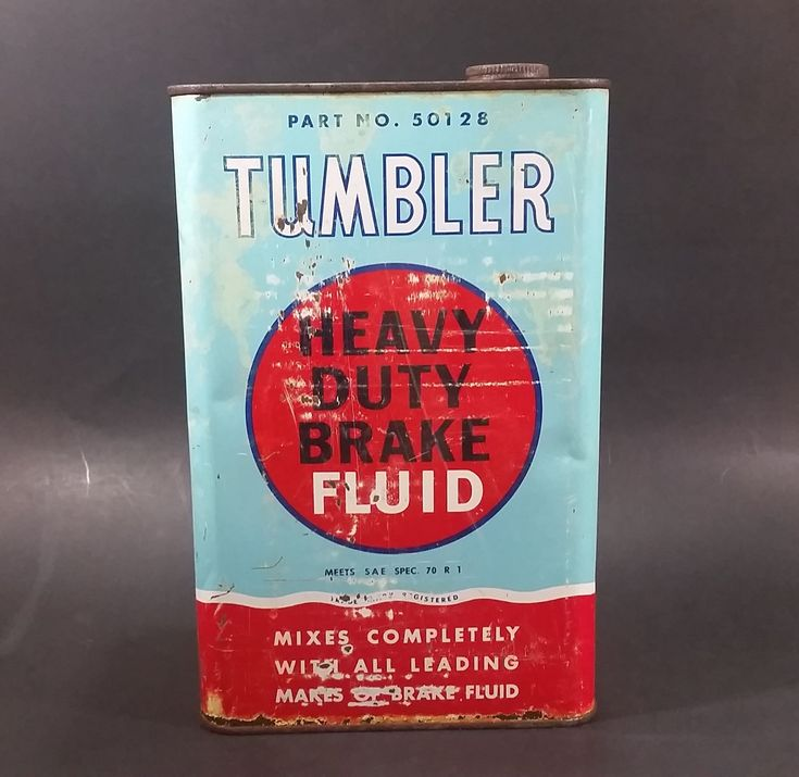 Vintage Tumbler Heavy Duty Brake Fluid Part No. 50128 Automotive Vehicle Metal Can w/ Lid https://treasurevalleyantiques.com/products/vintage-tumbler-heavy-duty-brake-fluid-part-no-50128-automotive-vehicle-metal-can-w-lid #Rare #Vintage #Tumbler #HeavyDuty #BrakeFluid #Brakes #Braking #Fluids #Automotive #Vehicles #Autos #Automobiles #Mechanics #Garage #Collectibles #ManCaves #MustHave