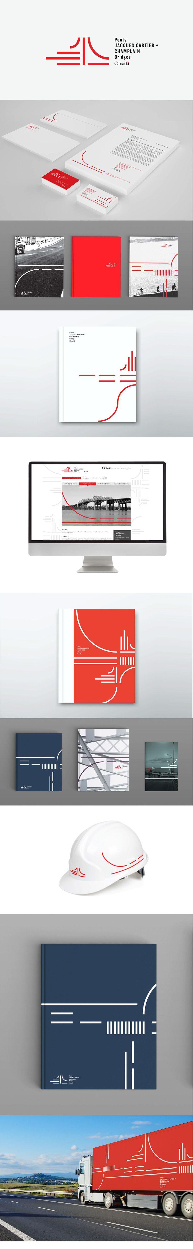 "Check out this @Behance project: ""Jacques Cartier and Champlain Bridges Inc. Rebranding"" https://www.behance.net/gallery/40944739/Jacques-Cartier-and-Champlain-Bridges-Inc-Rebranding"