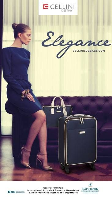 Elegance at its best -that's what you can expect when you shop for travel bags at Cellini Luggage at Cape Town International Airport. #femalegears.com #random #lovethese #shopping #women #female