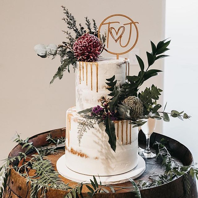 Repost Sweetly Sliced T J Cake Sweetly Sliced Venue Sunnybrae Estate Photograp Personalized Cake Toppers Cake Toppers Custom Cake Toppers