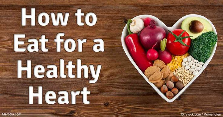 One of the easiest ways to ensure good heart health is to eat real food, rich in…
