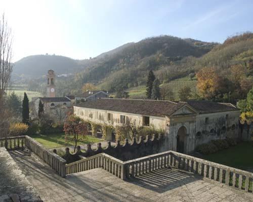 Villa dei Vescovi, rustici