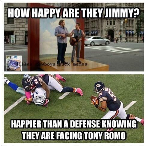 Hilarious Tony Romo | Tony Romo Memes | Terez Owens
