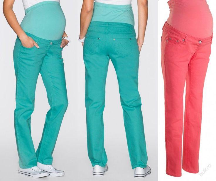 NOVÉ ,,TĚHOTENSKÉ kalhoty vel.44,46,48 :: AVENTE ...móda s nápadem