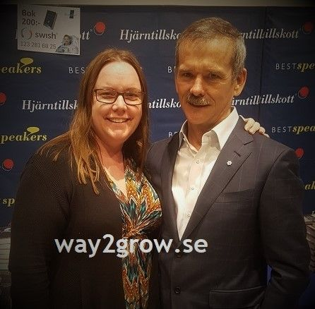 who inspire you? Me and astronaut Chris Hadfield
