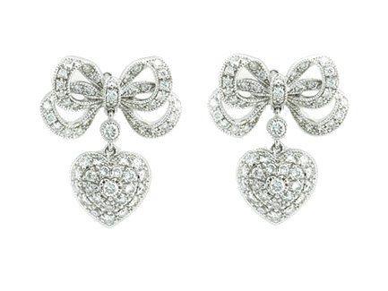 78 best Diamond Earrings images on Pinterest