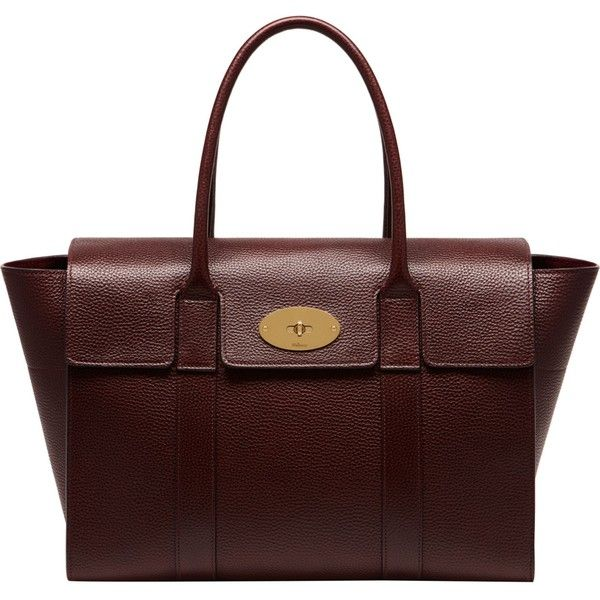 Mulberry Bayswater new leather tote ($1,320) ❤ liked on Polyvore featuring bags, handbags, tote bags, laptop purse, genuine leather tote bags, leather tote bags, tote handbags and leather laptop tote bag
