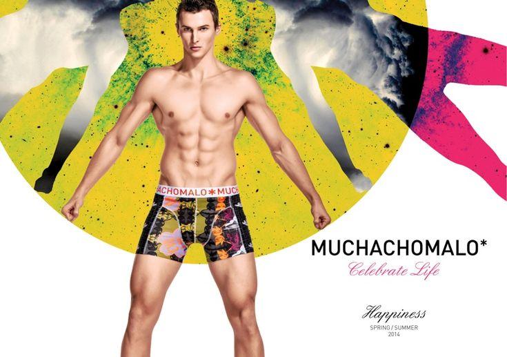Dawid Schaffranke Model Underwear Muchachomalos terbaru Styles dalam gambar Kampanye Spring / Summer 2014 mereka muchachomalo foto kampanye pakaian 001
