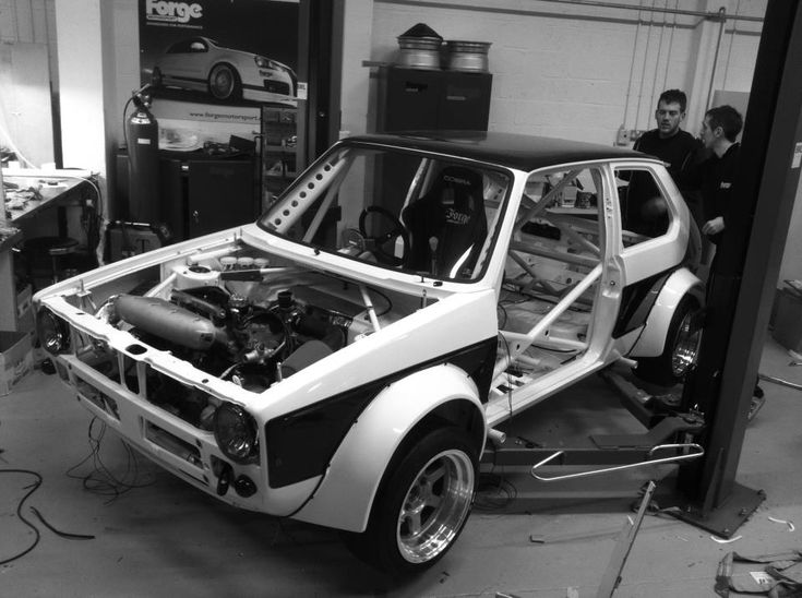 Check out this teaser of the Forge Motorsport Mk1 Golf running our 15x8in Grid-V - how cool does this look? Built specifically to compete in