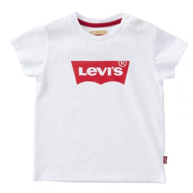 Levi's shirt wit met rode logo
