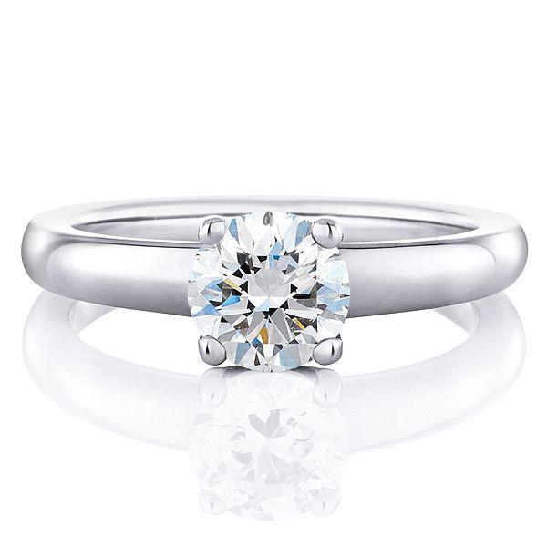 DB シグネチャー リング - DE BEERS(デビアス)の婚約指輪(エンゲージメントリング)爪ありのエンゲージリング・婚約指輪を集めました♡